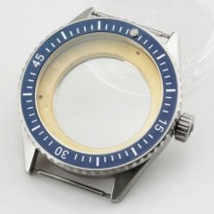 43mm Sapphire glass watch Case fit movemnet Miyota 8205/8215,mingzhu DG2813