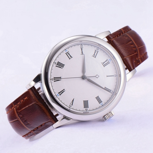 40mm Debert Sapphire Glass white sterile dial miyota 8215 Automatic mens Watch