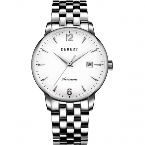 40mm Debert Watch Stainless Steel Band And Case Sapphire glass Japan Miyota Automatic men Watch