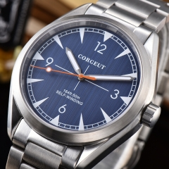Corgeut Fashion Casual Automatic Watch Japan Miyota movement Luminous Hand